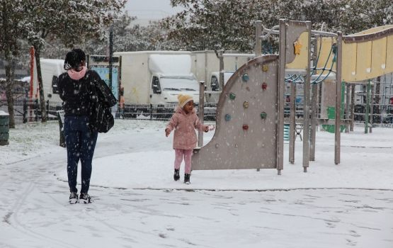 neige enfant